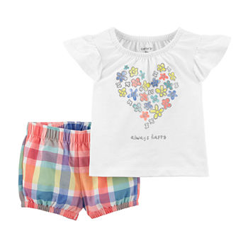 Carter's Baby Girls 2-pc. Short Set