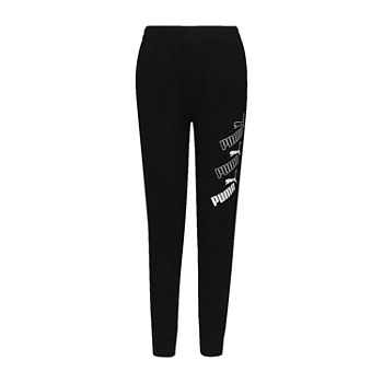 Puma Big Boys Cuffed Jogger Pant