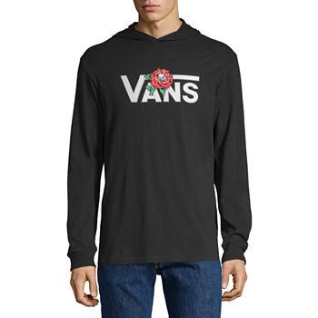 3fc2679c1b Vans Mens Long Sleeve Hoodie