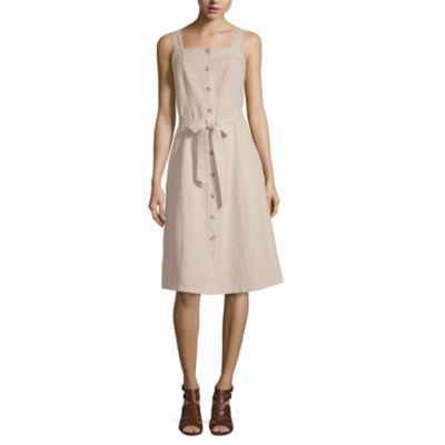 Tea Length Dresses 2 Piece