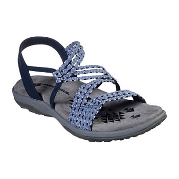 7d934e414f66 Skechers Womens Reggae Strap Sandals. Add To Cart. Navy.  54.99 sale