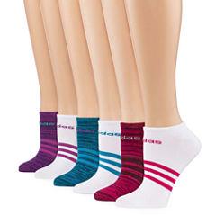 Adidas Superlite 6pk No Show Socks