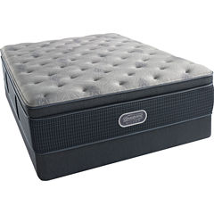 Simmons Beautyrest Silver® Emory Hope Pillowtop Plush - Mattress + Box Spring