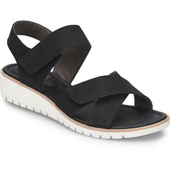 b1351c3c94485 Eurosoft Strap Sandals Women s Sandals   Flip Flops for Shoes - JCPenney
