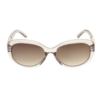 Mixit Plastic Oval With Stones On Temples Womens Sunglasses