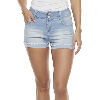 "Wallflower Womens 3"" Denim Short-Juniors"