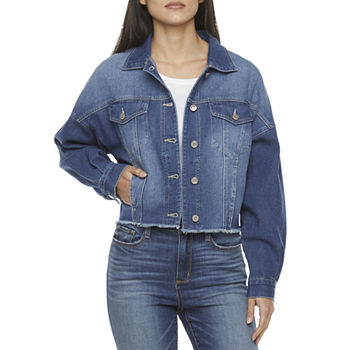 Ymi Lightweight Denim Jacket-Juniors