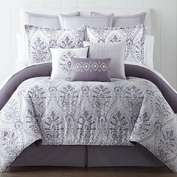 Eva Longoria Home Gray Decorative Pillows Shams For Bed Bath Beauteous Decorative Pillows For Bed Clearance