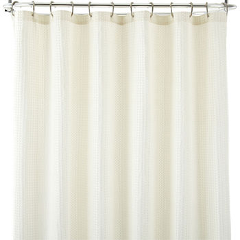 White Shower Curtains for Bed & Bath - JCPenney