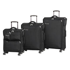 IT Luggage Carry Tow 8 Wheel 3-Pc Luggage Set
