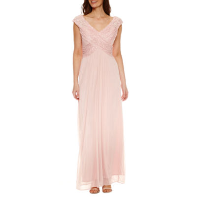 Women in pink dresses image