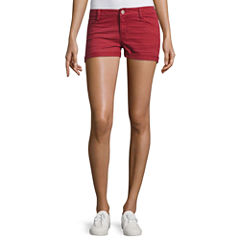 Arizona Garment Dye Shorts-Juniors