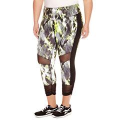 Xersion™ Knit Workout Capris Plus