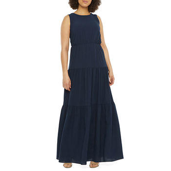 Vivi By Violet Weekend Sleeveless Tiered Maxi Dress