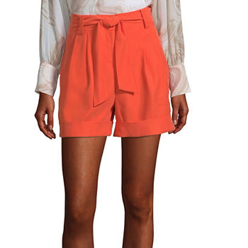 Worthington Womens High Rise Midi Short