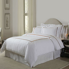 Pointehaven Embroidered 3-pc. Duvet Set