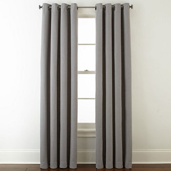 Blackout Gray Curtains Drapes For Window