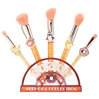 SEPHORA COLLECTION Coach x Sephora Collection Tea Rose Brush Set