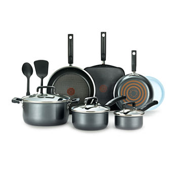 T-Fal Signature 12-pc. Aluminum Non-Stick Cookware Set