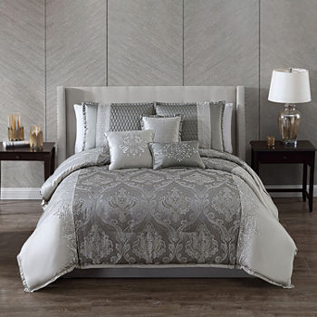 Riverbrook Home Kolina 7-pc. Jacquard Comforter Set