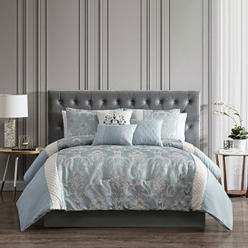Riverbrook Home Julietta 7-pc. Jacquard Comforter Set