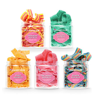 Candy Club Fasten Your Sweetbelts Small Candy Gift Set