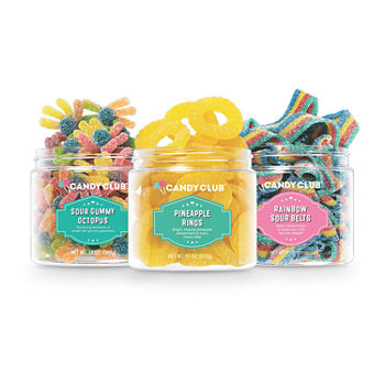 Candy Club Snazzy Sours Candy Gift Set