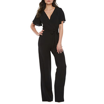 902225d0f450 Black Jumpsuits   Rompers for Women - JCPenney