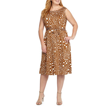 Plus Size Brown Dresses for Women - JCPenney