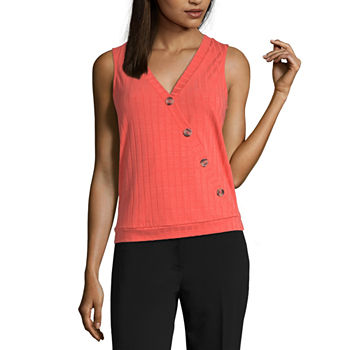 faf81159200ca Worthington Orange Tops for Women - JCPenney