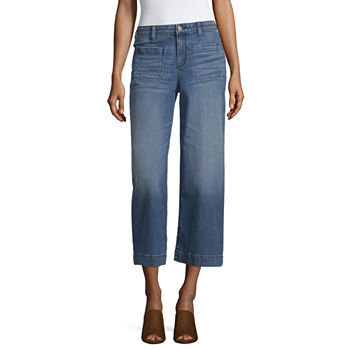 ced43aa185a Cropped Jeans Jeans for Women - JCPenney