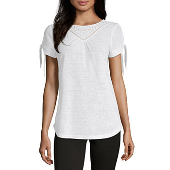 e55b7c3f Women's T-Shirts | V-Neck Shirts for Women | JCPenney