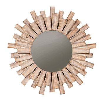 Signature Design by Ashley Donata Wall Mount Sunburst Decorative Wall Mirror