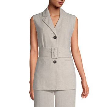 Worthington Belted Lightweight Vest