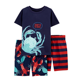 Carter's Little & Big Boys 3-pc. Shorts Pajama Set