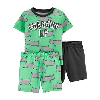 Carter's Toddler Boys 3-pc. Shorts Pajama Set