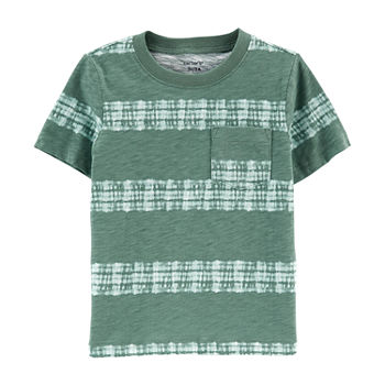 Carter's Toddler Boys Round Neck Short Sleeve T-Shirt