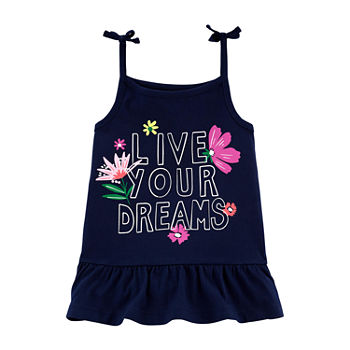 Carter's Toddler Girls Round Neck Tank Top