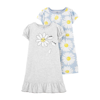 Carter's Little & Big Girls 2-pc. Nightgown Set