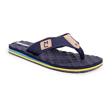 Muk Luks Chill Out Mens Flip-Flops