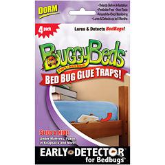 BuggyBeds® Bed Bug Glue Traps Dorm Pack