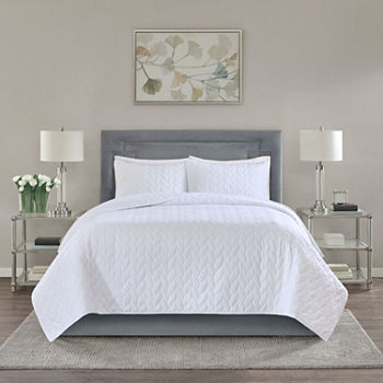 California King White Quilts Bedspreads For Bed Bath Jcpenney