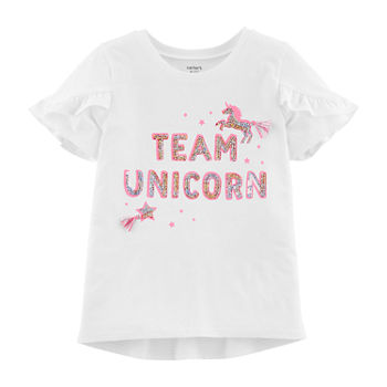 80d7bd83 Carters White Graphic Tees for Kids - JCPenney