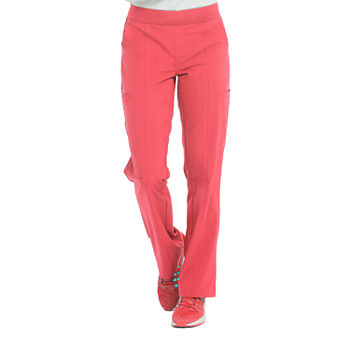Med Couture Womens 8744 Yoga 2 Cargo Pocket Scrub Pants - Plus