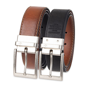 Dockers® Reversible Casual Single Stitch Belt