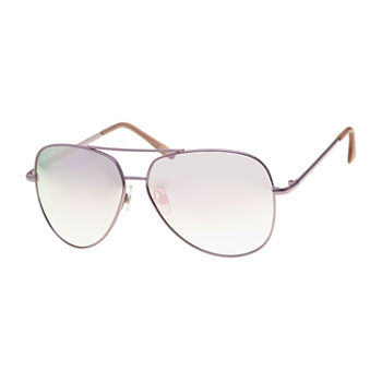 Arizona Pink Aviator Womens Sunglasses
