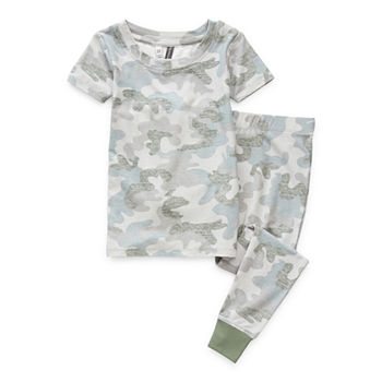 Jaclyn Camo Family Sleepwear Toddler Unisex 2-pc. Pajama Set