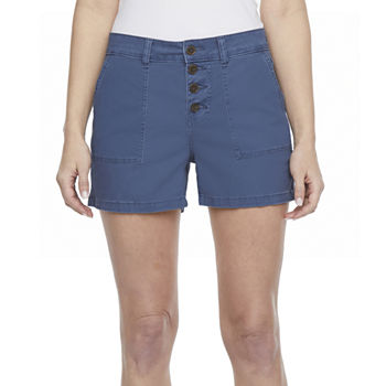 "a.n.a Womens High Rise 3.5"" Cargo Short"