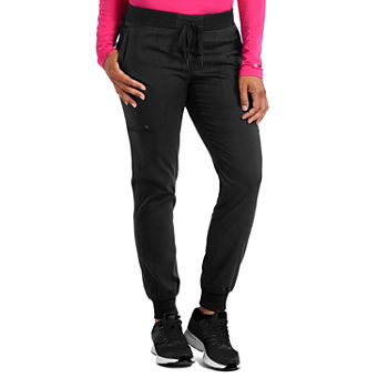 Med Couture 7710 Womens Jogge Yoga  Scrub Pants-Plus
