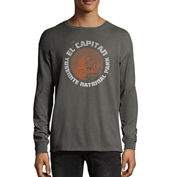 c044b4995 ... Mens Crew Neck Long Sleeve Graphic T-Shirt. Add To Cart. New. New  Railroad Grey